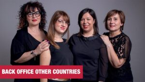 Claudia Patti, Elisa Patti, Elena Preti and Annapaola Caragiuli