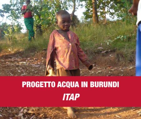 ITAP PROGETTO ACQUA IN BURUNDI