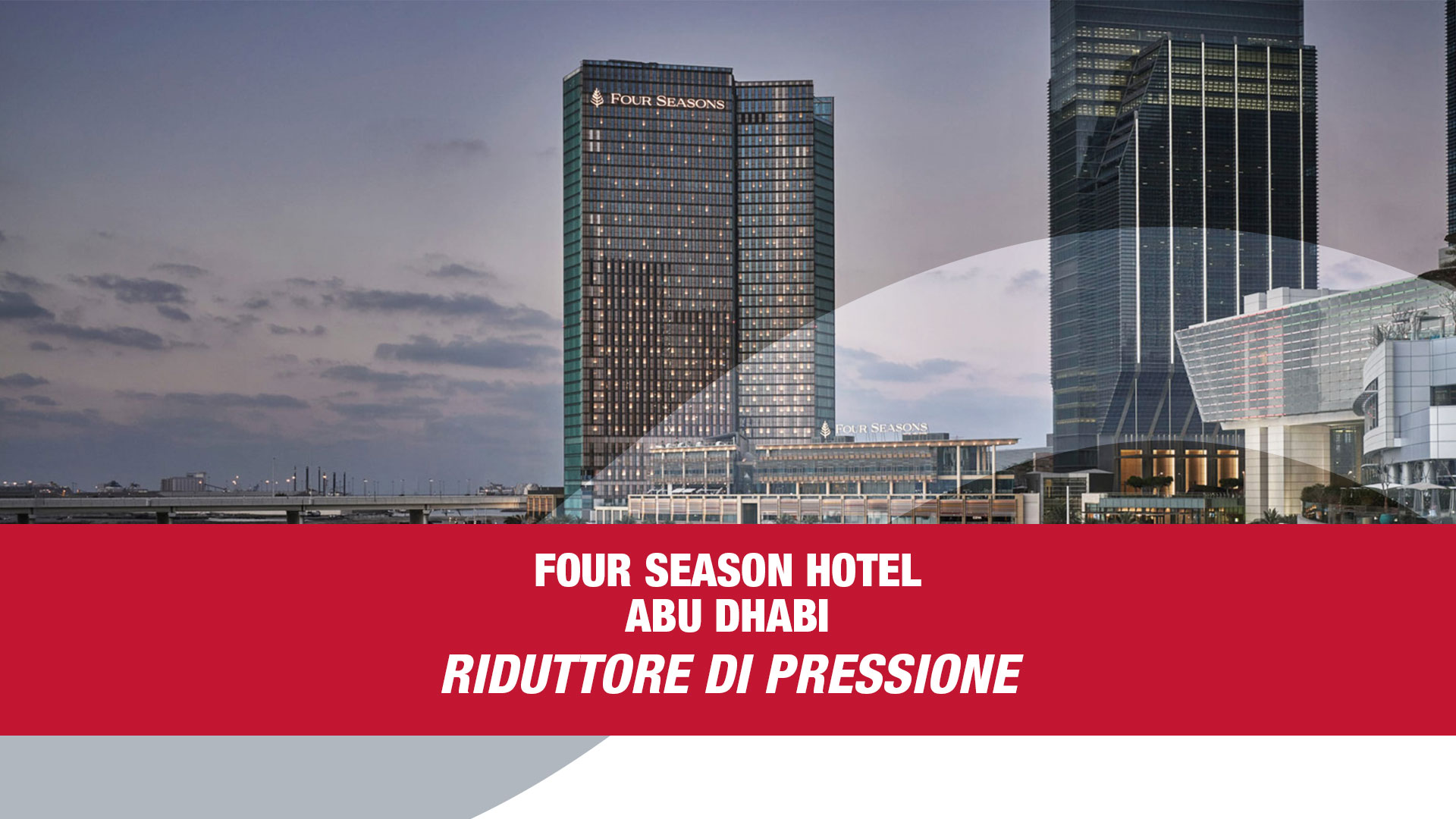 Portfolio - Four season hotel Abu Dhabi