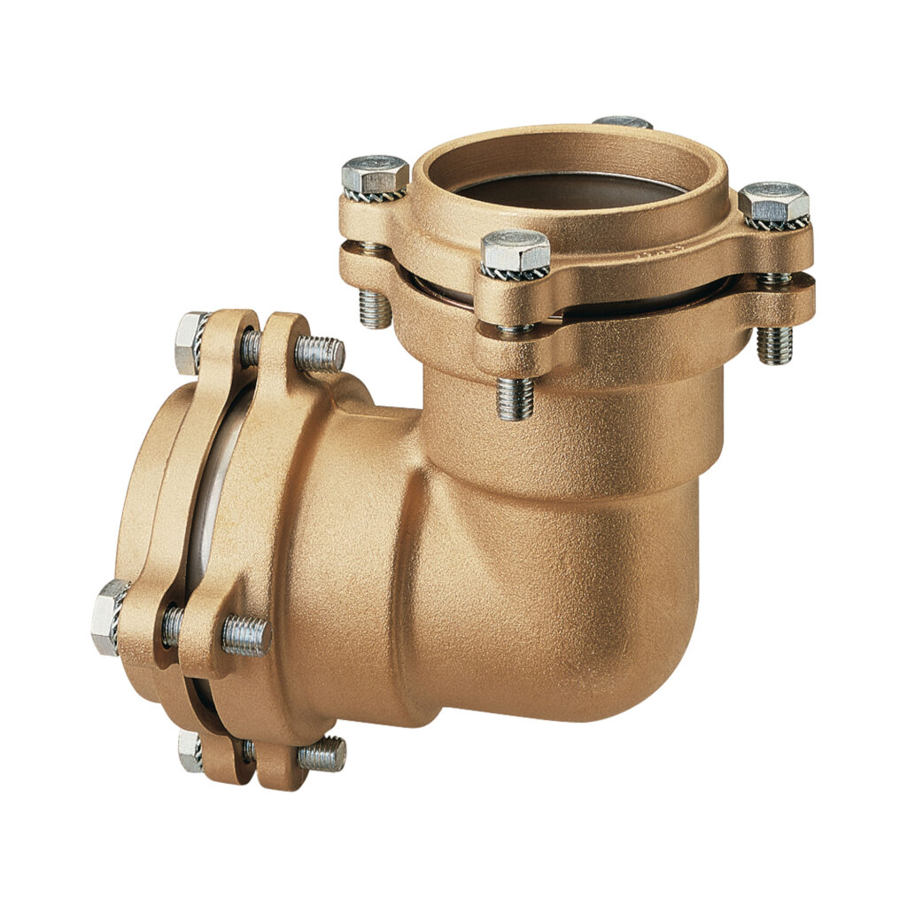 Elbow coupling, with flanges - 050FL