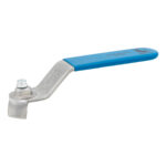Stainless steel flat lever handle for ball valves - 089B