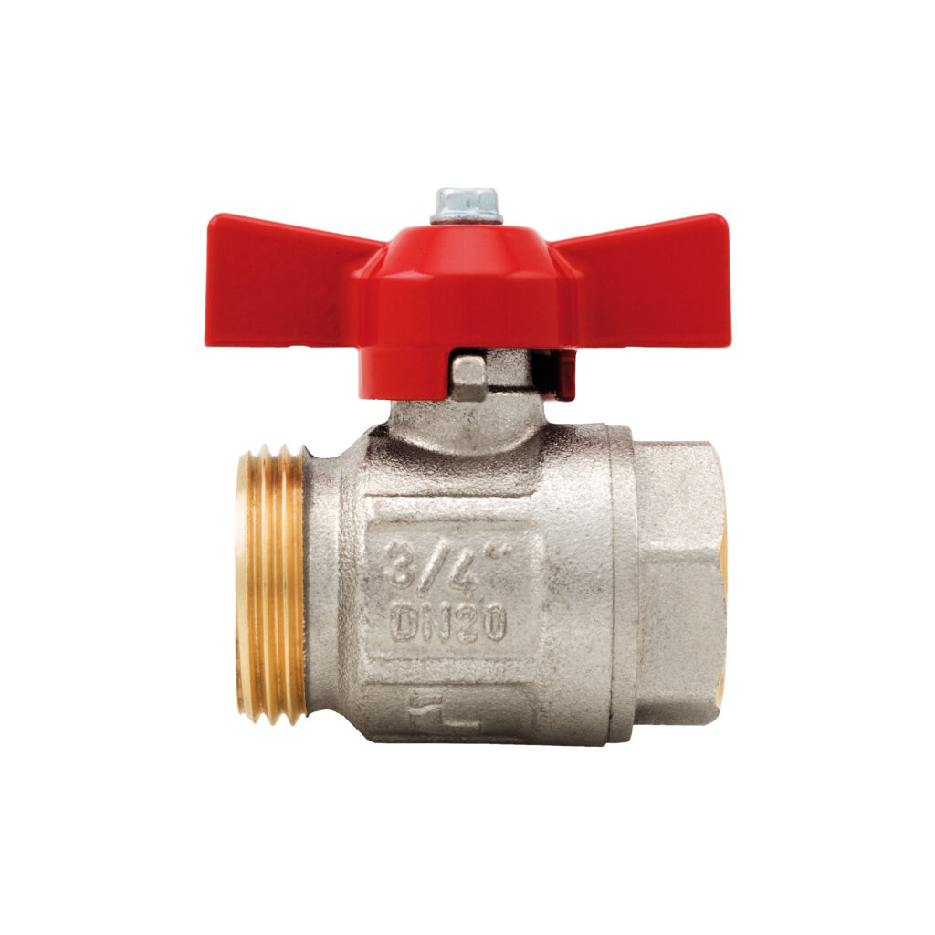 Ideal ball valve without union, full flow for manifolds - 098SDC