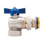 Angle ball valves kit – Compact - 298RSK