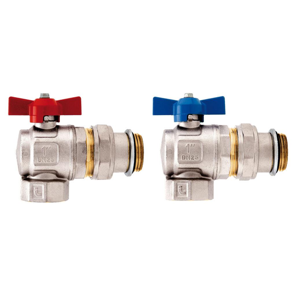 Angle ball valves kit - 298SK