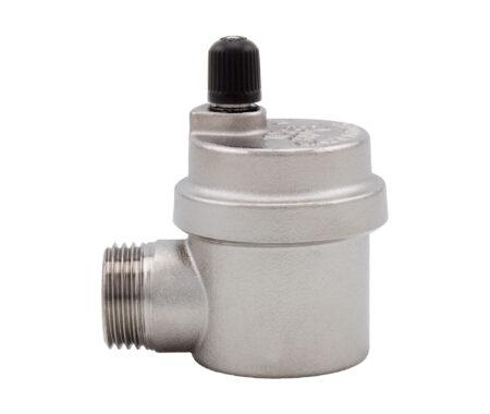 Válvula automática de escape de aire conexión lateral, modelo compacto