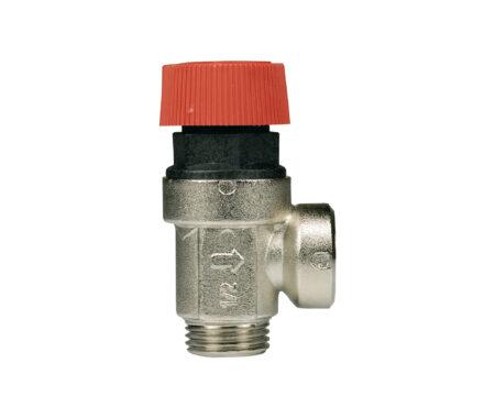 Válvula de seguridad de membrana M/F