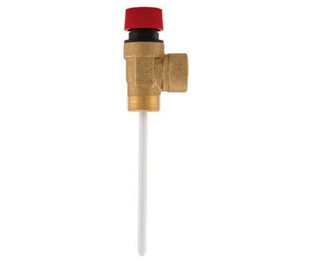 Клапан безопасности температуры и давления для систем солнечного отопления