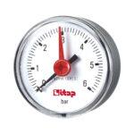 Pressure gauge, back connection, 0-6 bar - 483R