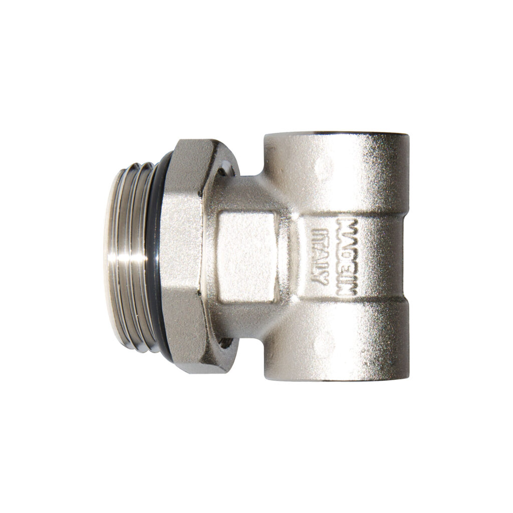Adjustable male end fitting for manifolds - 490S