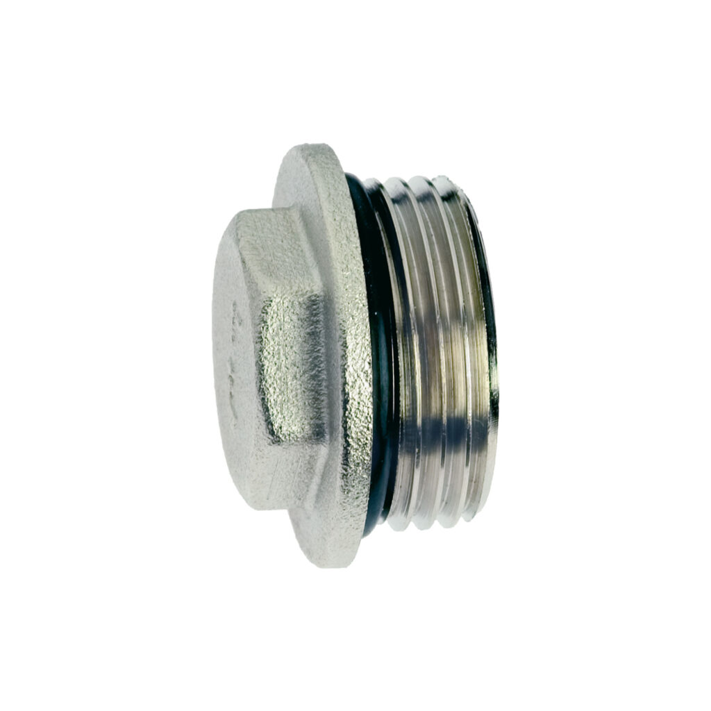Male end cap with o-ring - 494