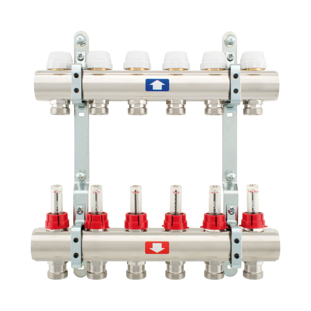 Pre-assembled manifold with flow meters - 915C