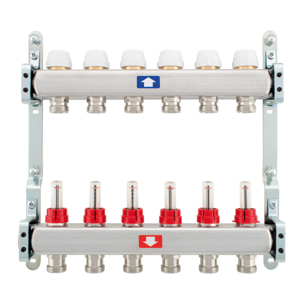 Pre-assembled manifold with flow meters - 917C