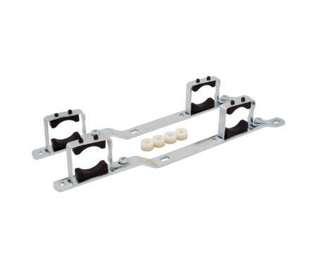 Staffe di fissaggio in acciaio per cassette in metallo art. 498 - 498R