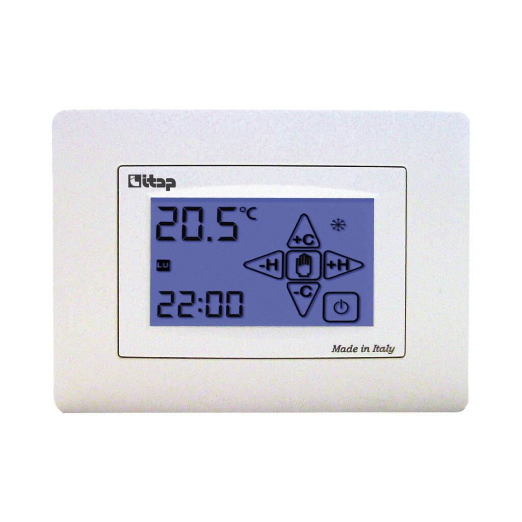 Chronothermostat d'ambiance électronique numérique à écran tactile - 950T