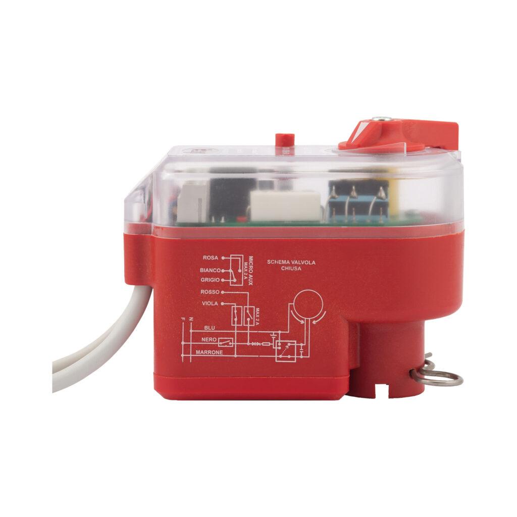 Servo-commande électrique avec dispositif de déblocage manuel pour vannes de zone à boisseau sphérique - 991
