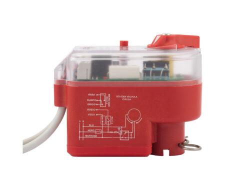 Электропривод для зонных шаровых кранов с ручным отпирающим устройством