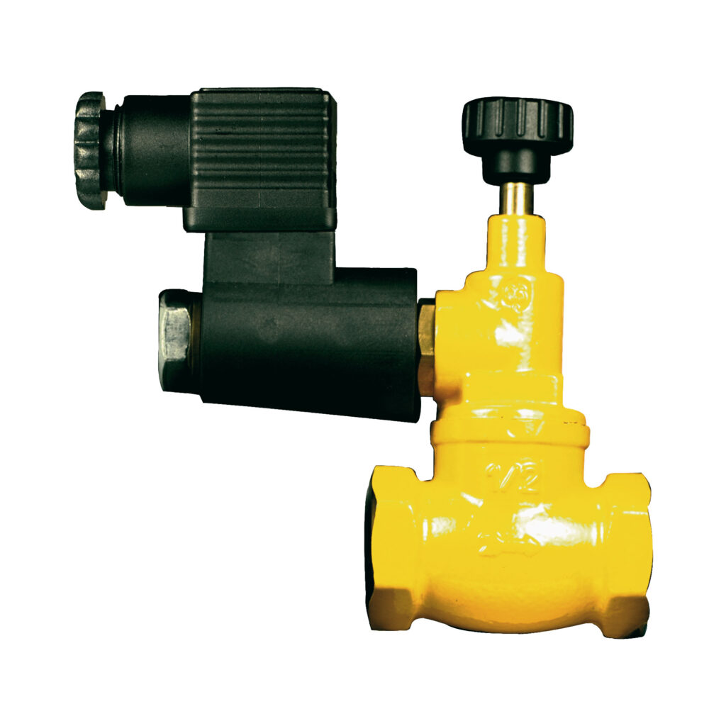 Solenoid safety valve, normally open - 993M