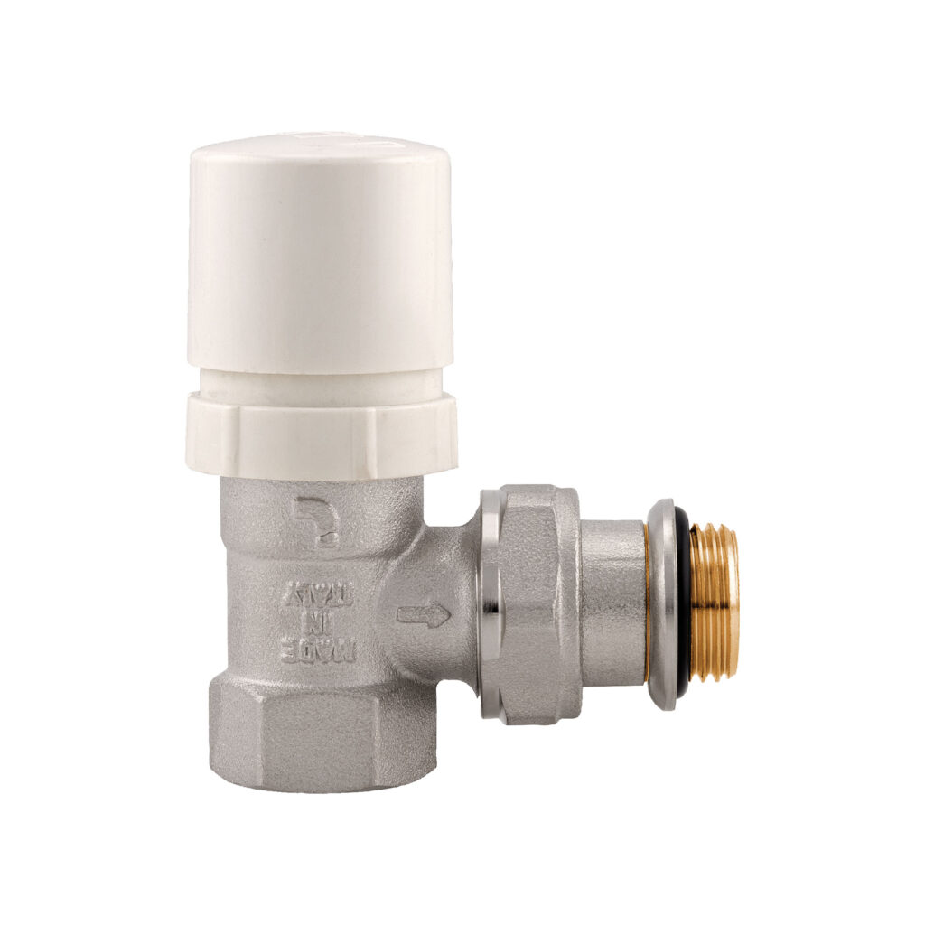 Angle convertible valve with handle, female thread - 994V